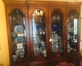 Henredon Lighted china cabinet