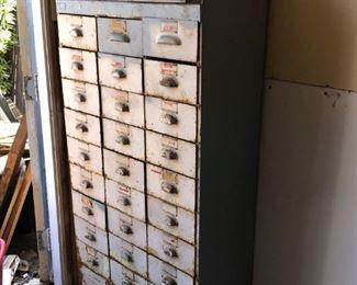 McDonnell Douglas, US Navy metal drawer cabinet $450