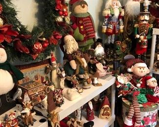 2 rooms of Christmas Decor, great brands