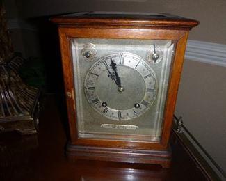 Antique J.E.Caldewll  Crystal Clock