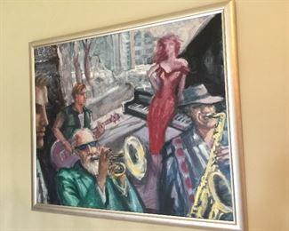 Approx 28x30 Original David Cochran Painting $1200 obo