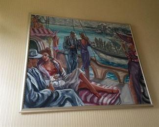 Approx 5' x 6' Original David Cochran Painting $3000 obo