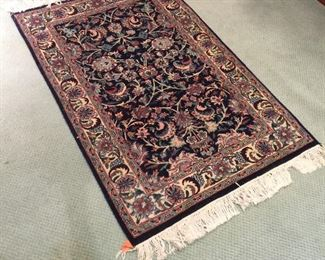 SEVERAL ORIENTAL THROW RUGS