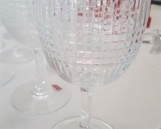 Vintage Baccarat Nancy, 65 stems