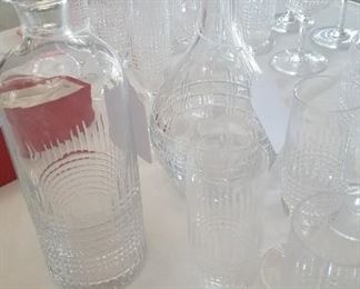 2 Baccarat decanters