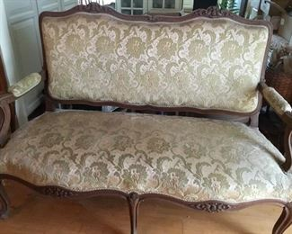 French settee c. 1900s