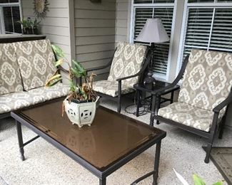 Nice set of patio furniture width tables
