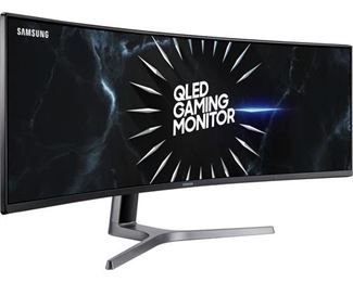 """Samsung C49RG9 49"""" 32:9 120 Hz Curved FreeSync HDR LCD Gaming Monitor"""