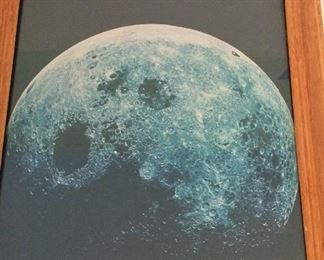Apollo 8 Photograph of the Moon.