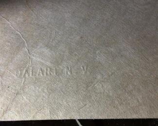 "Salvador Dali, ""Dream Passage"", Signed and Numbered Lithograph, 93/300. 26"" x 34"". With DALART N.V. Blindstamp on Lower Left Corner."