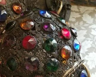 Antique Jeweled Arabic Lantern