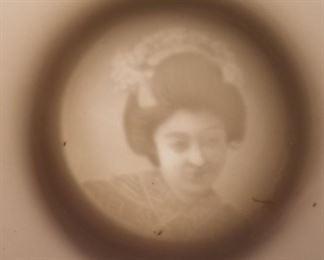 Lithopane Geisha