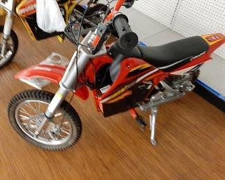 New Razor Mini Bike (battery operated)