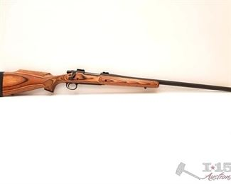 """320: Remington 700 .300 Rem Ultra Mag Bolt Action Rifle, CA Transfer Available Serial number: E6736067 Barrel Length: 26""""  California Transfer Available. Ca and out of state shipping available to your local FFL. Buyer is responsible for checking local laws before bidding."""