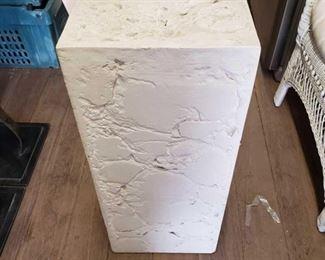 7030: Decor Stone Pillar Decor Stone Pillar. Center of stone is hollow