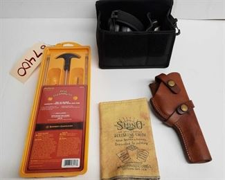 7400: Rifle Cleaning Kit, Polishing Cloth, Holster, and Range Ear Protection Rifle Cleaning Kit, Polishing Cloth, Holster, and Range Ear Protection (Titus)