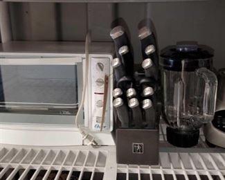 7410:  J.A. Heckels Knife Set, Black & Decker Blender, Oster Convection Oven J.A. Heckels Knife Set, Black & Decker Blender, Oster Convection Oven