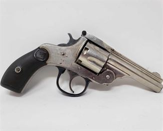 """222: Harrington & Richardson 2nd Model 5th Variation .32 Cal Revolver, CA Transfer Available Serial Number: G29986 Barrel Length: 3.25""""  California Transfer Available. CA transfer can only be done at the Bid Fast and Last office in Hesperia, Ca. NO CA SHIPPING!! $25 out of state shipping for a single handgun purchase with out insurance. Insurance cost varies by purchase amount. Shipping cost for multiple handguns or with rifles wil also vary."""
