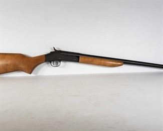 """353: Harrington & Richardson Pardner Single Shot 410ga Shotgun Serial Number: 226512 Barrel Length: 25.5""""  California Transfer Available. Ca and out of state shipping available to your local FFL. Buyer is responsible for checking local laws before bidding."""