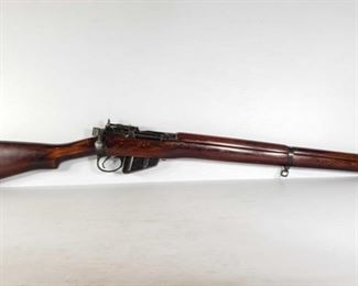 """308: Lee Enfield NO4 MK1/2 Bolt Action .303 Brit Rifle Serial Number: A2649 Barrel Length: 25.25""""  California Transfer Available. Ca and out of state shipping available to your local FFL. Buyer is responsible for checking local laws before bidding."""