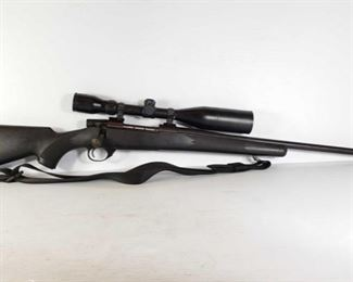 """296: Weatherby Vanguard Bolt Action .300 WBY Mag Rifle with BSA 3-12×50 Scope Serial Number: VS32421 Barrel Length: 26.75""""  California Transfer Available. Ca and out of state shipping available to your local FFL. Buyer is responsible for checking local laws before bidding."""