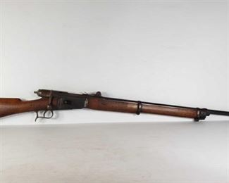 """311: Vetterli 1868/71 Bolt Action .41 Swiss Rifle Serial Number: 71592 Barrel Length: 33.25""""  California Transfer Available. Ca and out of state shipping available to your local FFL. Buyer is responsible for checking local laws before bidding."""