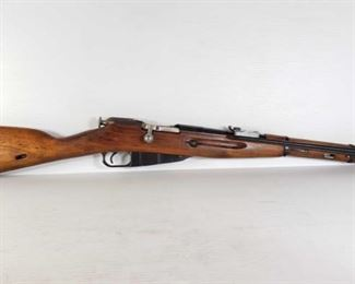 """313: Mosin Nagant M44 Bolt Action 7.62x54mm Rifle with Bayonet Serial Number: TY6601 Barrel Length: 21.25""""  California Transfer Available. Ca and out of state shipping available to your local FFL. Buyer is responsible for checking local laws before bidding."""