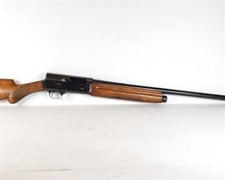 """361: FN/Browning Full 12 Special Semi-Auto 12ga Pump Shotgun Serial Number: 107072 Barrel Length: 29.5""""  California Transfer Available. Ca and out of state shipping available to your local FFL. Buyer is responsible for checking local laws before bidding."""