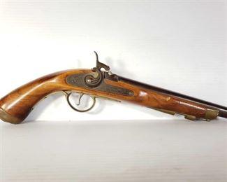 """500: Jukar Black Powder Pistol, No FFL Required Serial Number: 0005622 Barrel Length: 8"""""""