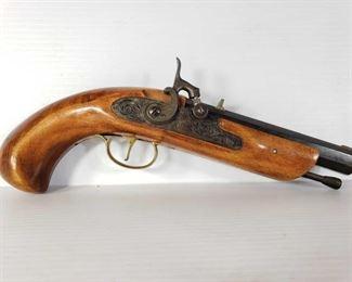 """501: Jukar .45 Cal Black Powder Pistol, No FFL Required Serial Number: 176806 Barrel Length: 6"""""""