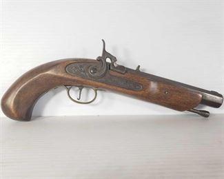 """502: Jukar Black Powder Pistol, No FFL Required Serial Number: 095569 Barrel Length: 7"""""""