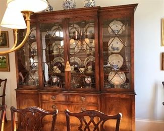 China Cabinet Made in England by Beran Funnell Ltd