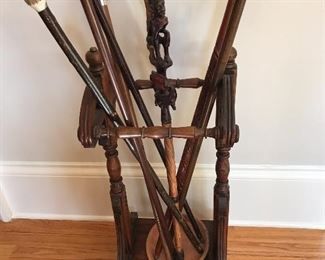 Beautiful Wood Umbrella Stand