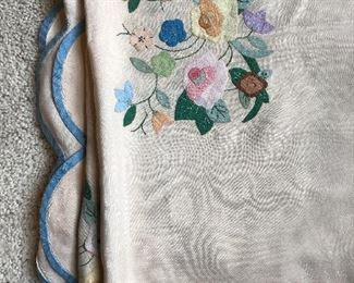 Antique Silk Twin Coverlets