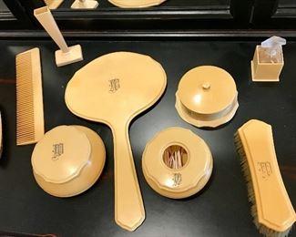 Bakelite Dressing Table Set
