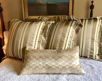 3 Custom Large Pillow Shams