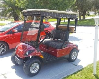 2008 Factory Reconditioned Yamaha Gas Golf Cart. Like New!