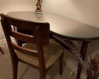 Carl Bissman Original mid century modern desk and chair