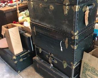 trunks trunk vintage trunk