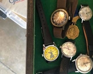 BSA watches BSA Boy Scouts of America  - This house is filled with TONS of BSA items many employee only items if interested in buying them prior to sale call 6302903825 ask for Sonny