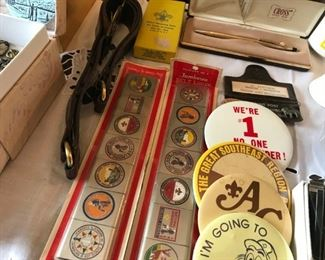 BSA boy scouts of america vintage items from 1940s-late 70's a must have for collectors. Call 6302903825 if you would like to see ENTIRE COLLECTION early buyers must buy the LOT