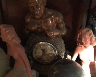 Antique Joe Louis Clock