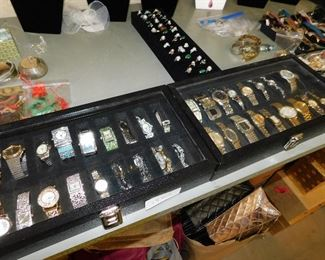 Watches galore! Some good, some no so good....