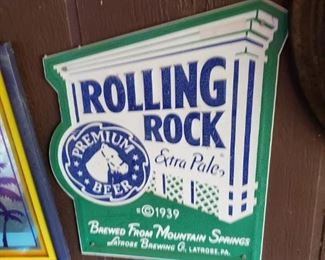 Where exactly is the rock rolling?  And if it's rolling, then how do I catch my beer?