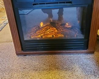 Another Electric Fireplace with multiple settings
