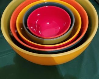 Nesting bowls.  For those that need 5 bowls to prep a meal.