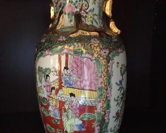Asian vase.