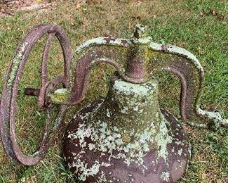 Cast iron bell No. 20 yoke