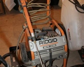 Ridgid powerwasher