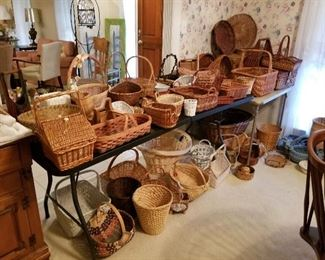 Vintage and new Baskets.  All sizes.